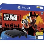 Sony PlayStation 4 Slim 1Tb Black + Red Dead Redemption 2