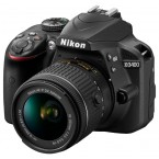 Nikon D3400 Kit 18-55mm AF-P Black