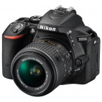 Nikon D5500 Kit 18-55mm VR II Black